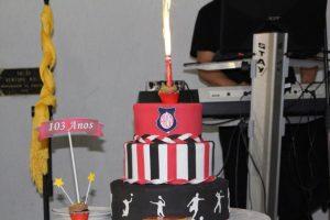 Confira as fotos da festa de 103 anos da Atlética